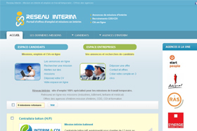creation site internet emploi